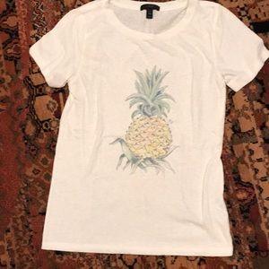 J Crew pineapple tee size XS